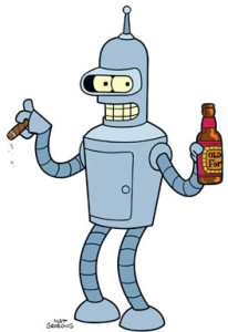 Bender (Futurama), Comedy Central.