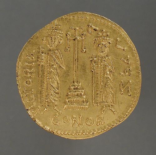 byzantine solidus photo