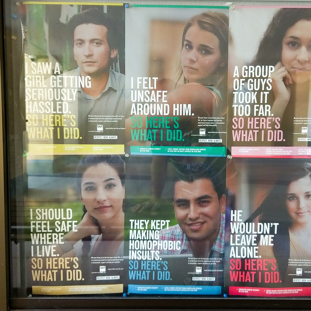 qut hate posters photo
