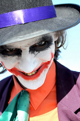 batman comic con photo