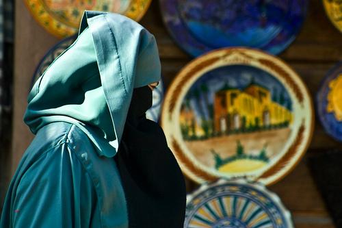burka niqab photo