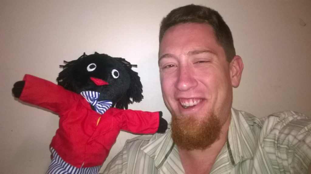 Golliwog and I. Photo by Ryan Fletcher