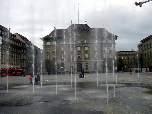 Swiss bank photo