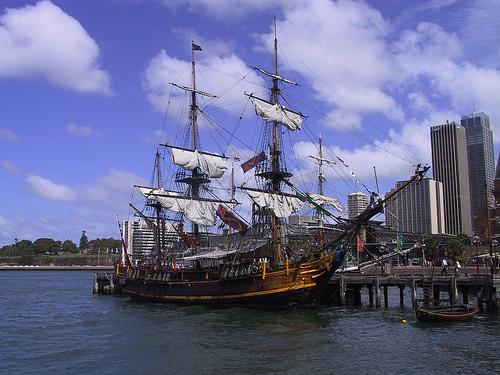 Tall ships sydney photo