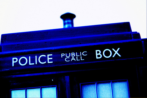 Dr who tardis photo