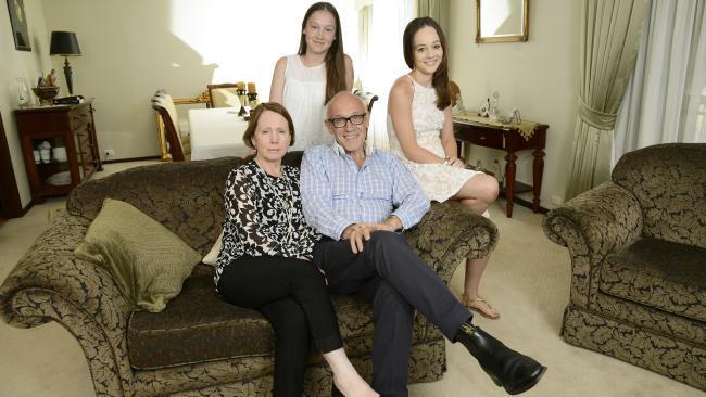 Damien Tudehope family
