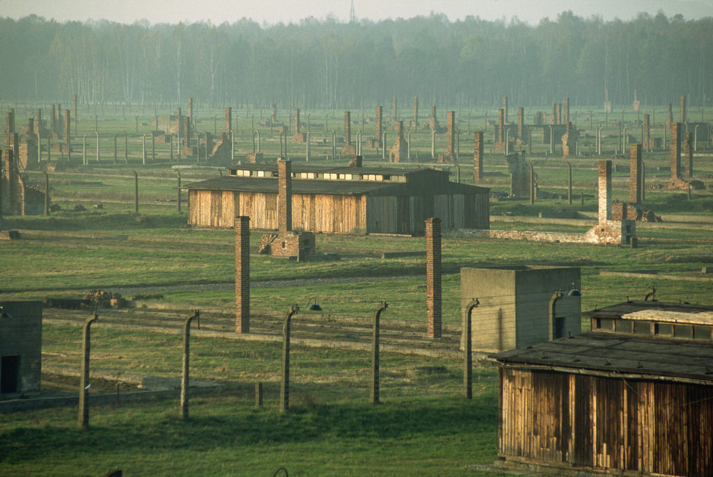 Auschwitz gas chambers Richard Cooke