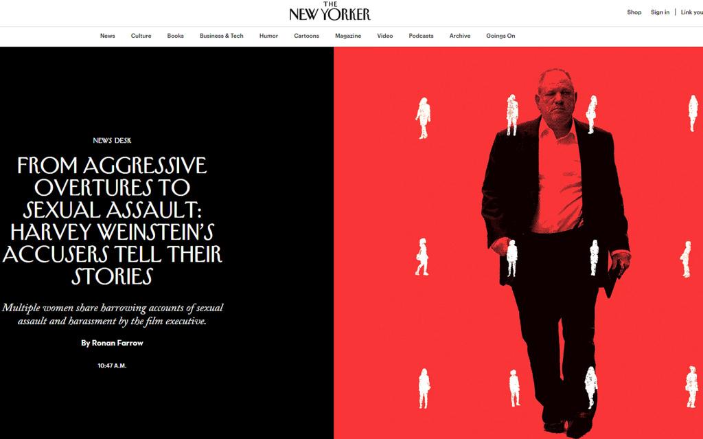 Harvey Weinstein New Yorker