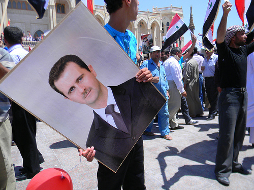 Bashar al assad photo