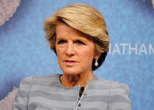 Julie bishop photo