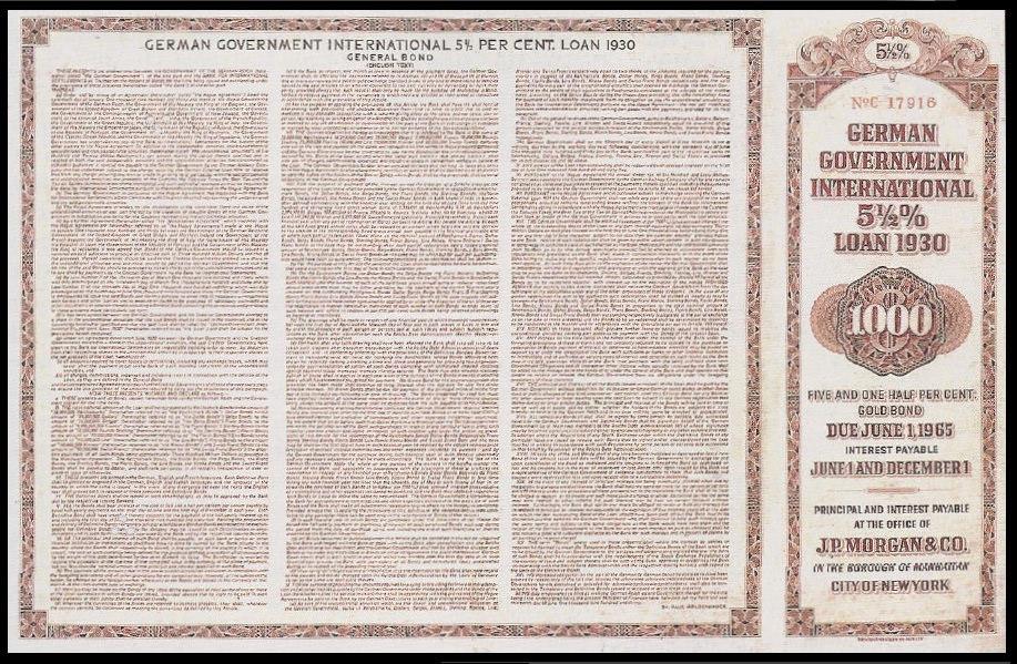 German bond issue 1930