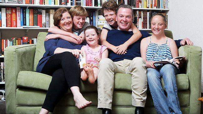 Chris Pyne family