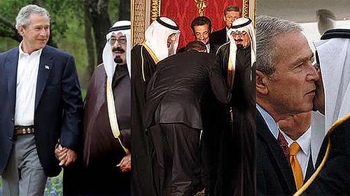 Bush Saudi puppet