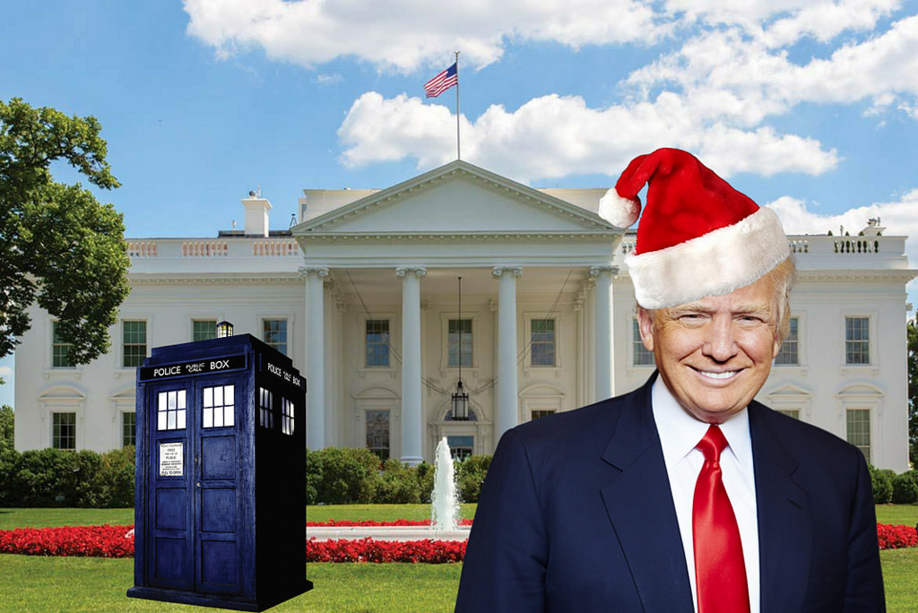 Donald Trump time traveller