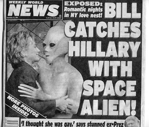 Hillary the alien