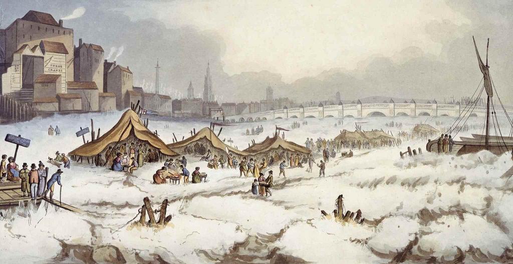 Thames Frost Fair 1814