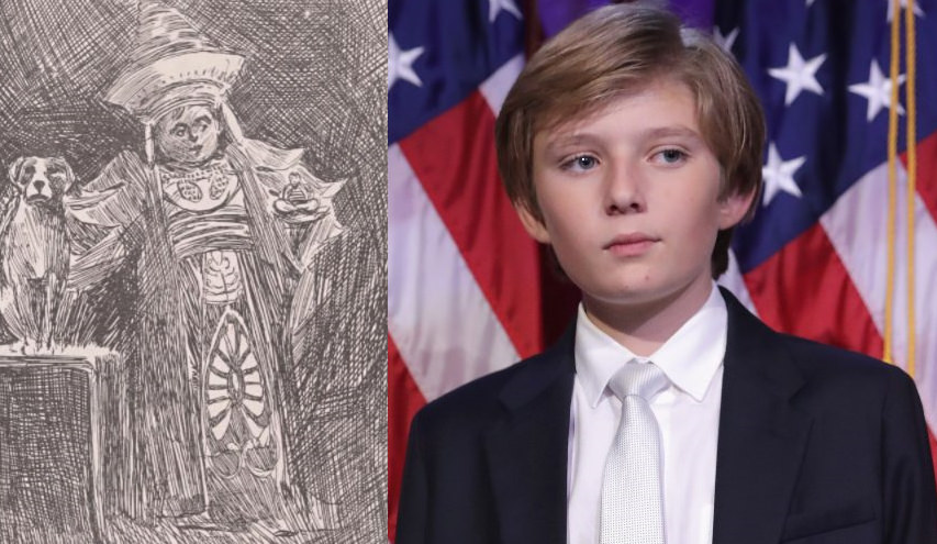Baron and Barron Trump