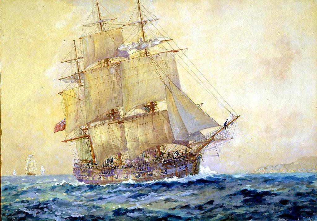 First Fleet ships