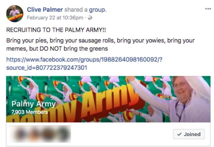 Palmy Army FB