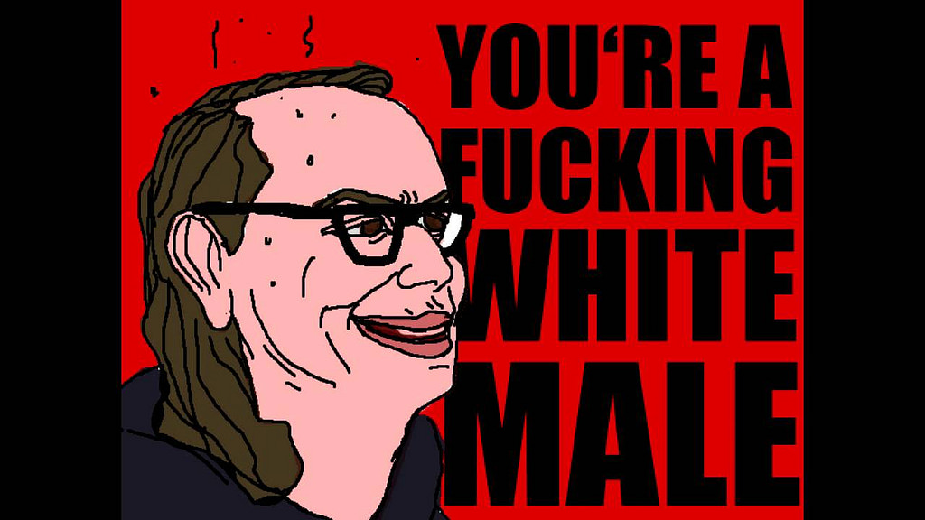 You're a white male