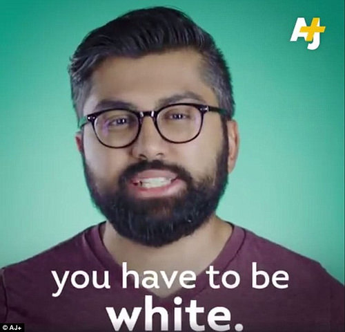 You have to be white