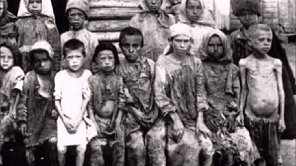 The Soviet Holodomor in Ukraine, 1933.