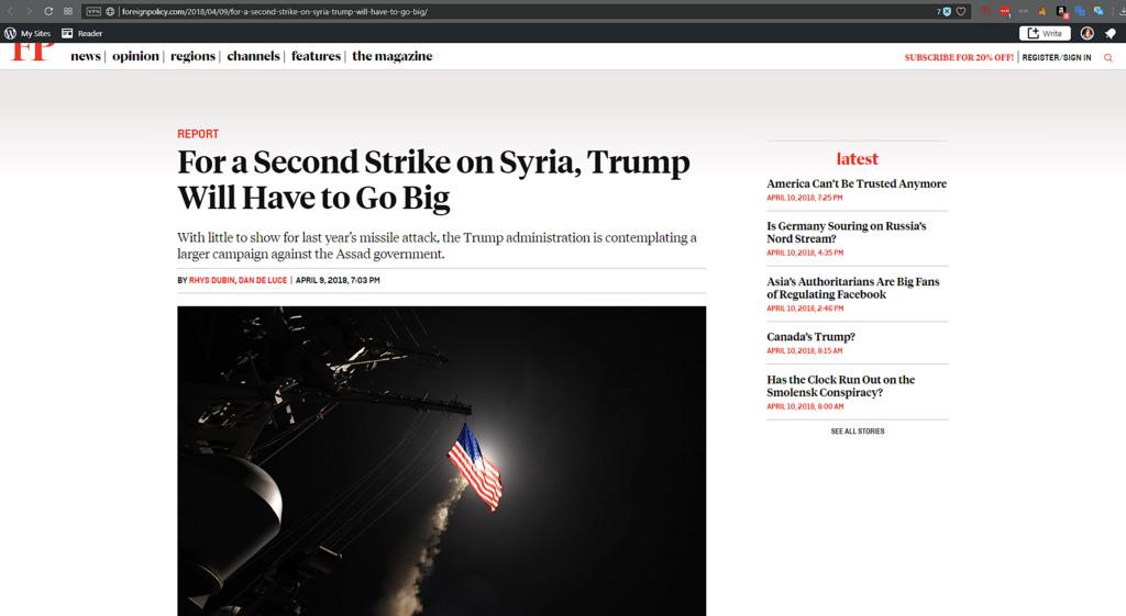 Go big Trump