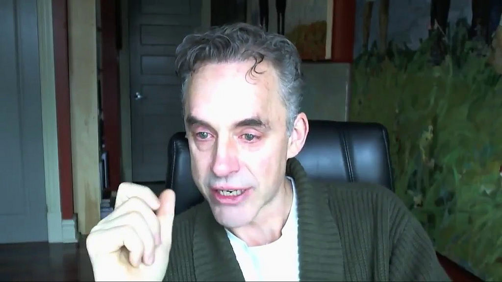 Jordan Peterson taking pills