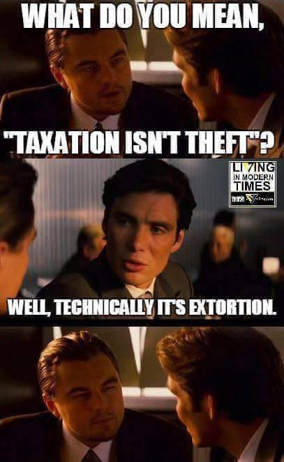 Image result for taxation as theft
