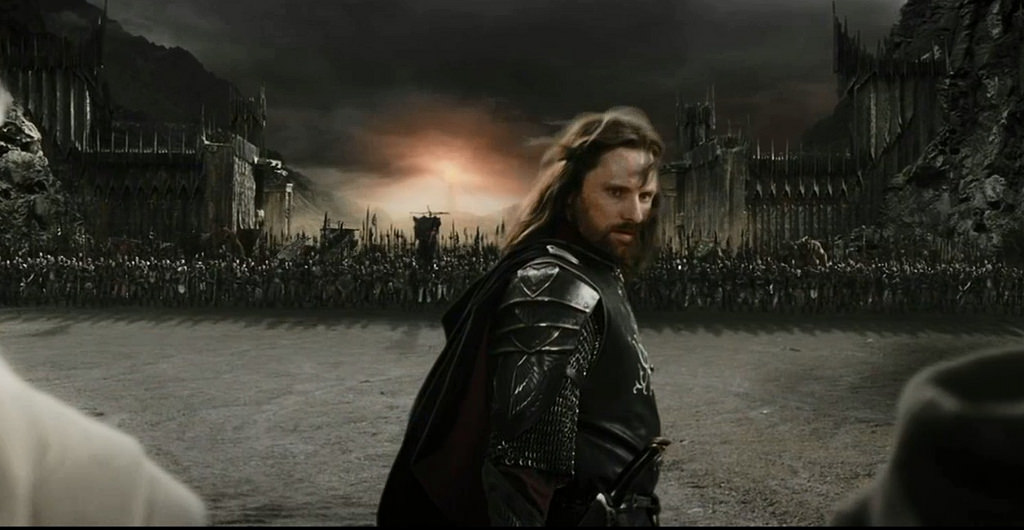 Racist Numenorean Aragorn.