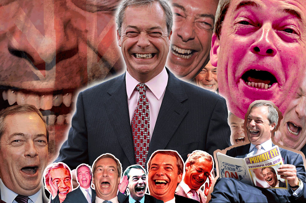 Nige is laughing