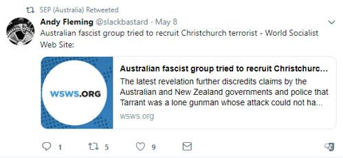 SEP Australia Tweet